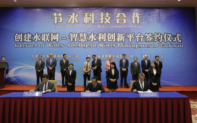 Rubicon Water expands its China presence in new Joint Venture with Gansu Government
