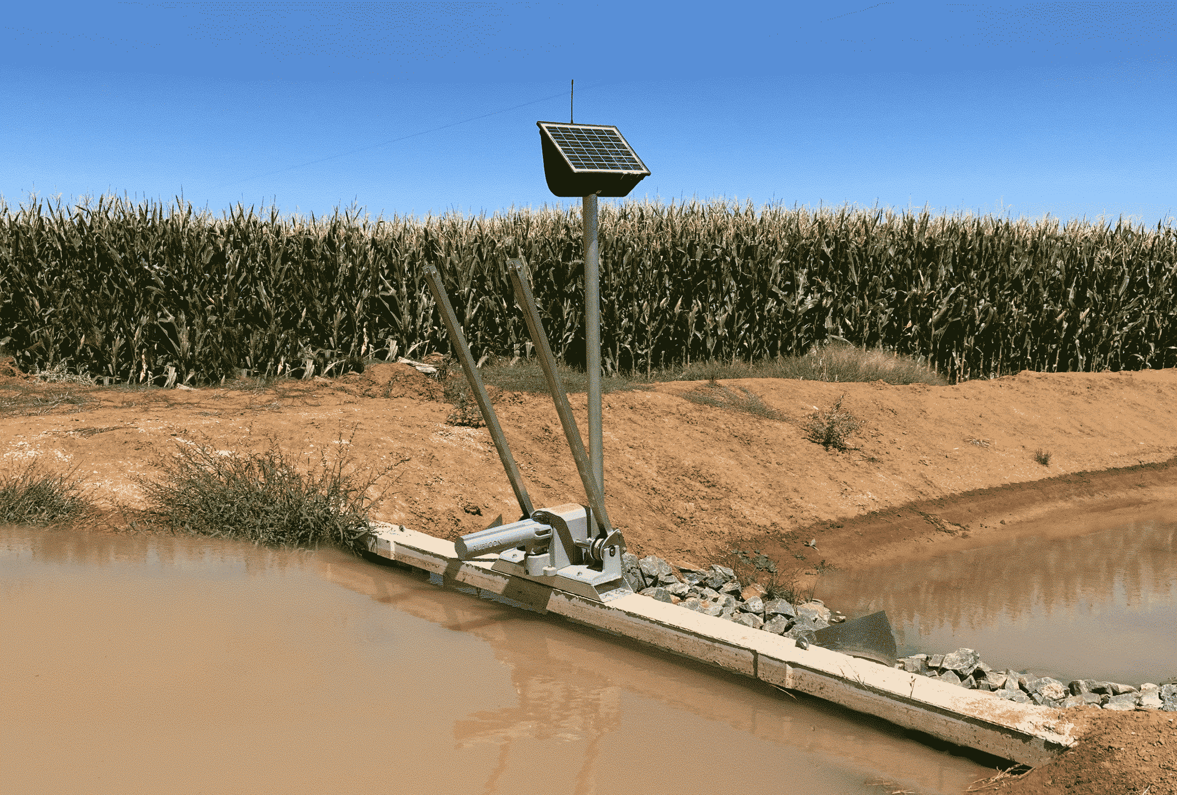 BayDrive - Automating Bay Gate for precision surface irrigation