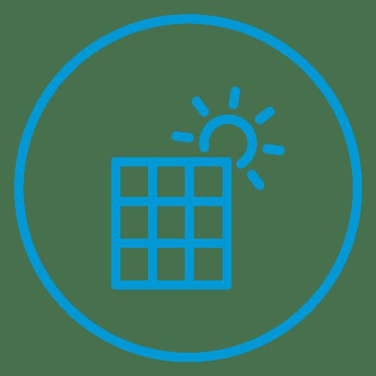 Solar Powered Icon