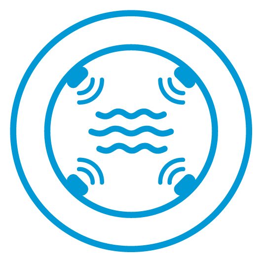 Sonaray Ultrasonic Flow Measurement Icon